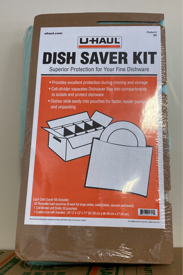 AIMS Self Storage & Moving | Dish Saver Kit