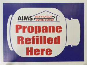 AIMS Self Storage & Moving Center | Propane Refills