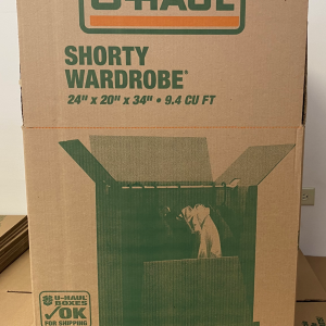 AIMS Self Storage & Moving | Shorty Wardrobe Box