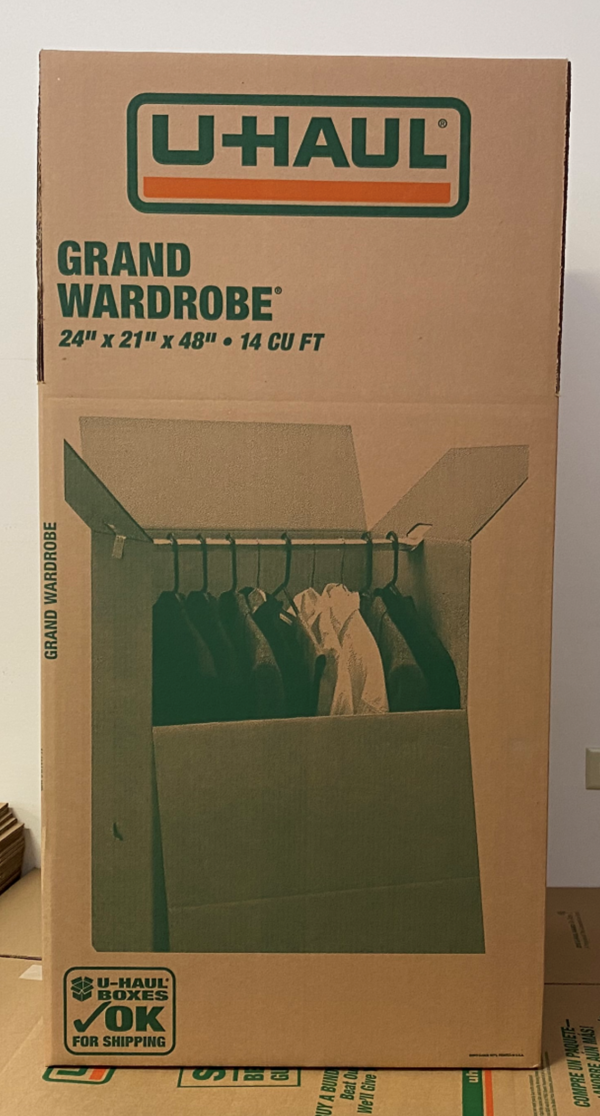 AIMS Self Storage & Moving | Grand Wardrobe Box
