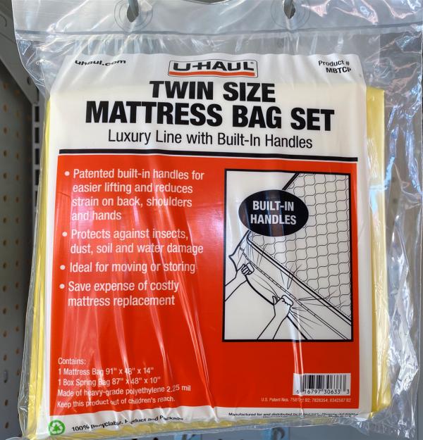 AIMS Self Storage & Moving | Mattress Bag Set - Twin