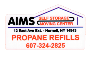AIMS Self Storage | Propane and RV Tank Refills